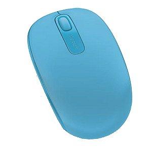Mouse Sem Fio Mobile Microsoft 1850 Azul - U7Z00055
