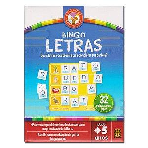 Jogo Bingo Letras