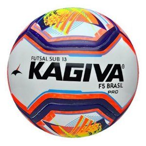Bola de Futsal F5 Brasil Oficial Kagiva Sub 13