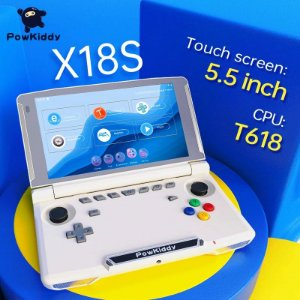Video Game Powkiddy X18s T618 Android 11 Tela 5.5 XCloud