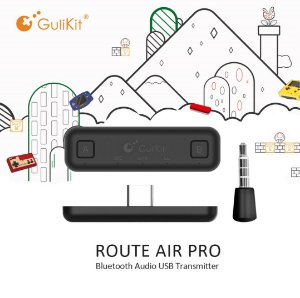 Adaptador Gulikit Air NS07 Pro P/ Fones De Ouvido Switch Ps4 Pc