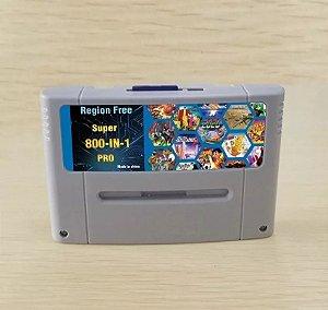 Everdrive Super Nintendo Snes Famicom Cartão 8 Gb + 800 Jogos