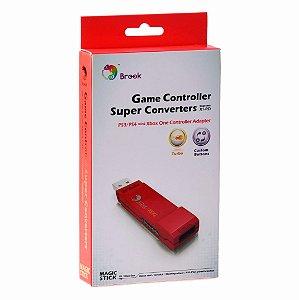 Adaptador Brook Super Converter Xbox One P/ PS3 PS4 Pc