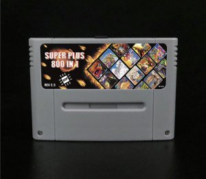 Everdrive Super Nintendo Snes Famicom DSP v2.5 Sd 8 Gb + 800 Jogos