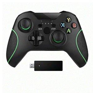 Controle Joystick Wireless P/ Xbox One Ps3 Pc Sem Fio 2.4 Ghz