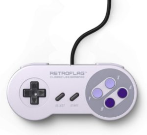 Controle Retroflag Snes USB Wired P/ Nintendo Switch Raspberry Pc