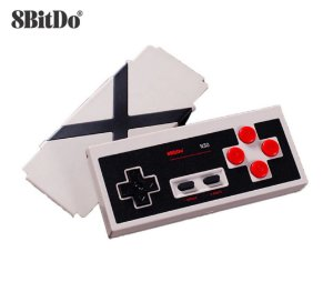 Controle 8bitdo N30 NES Bluetooth Wireless Raro P/ Nintendo Switch Pc