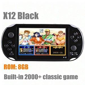 Video Game Portátil Retro Handheld PSP X12 2 Mil Jogos Tela 5.1