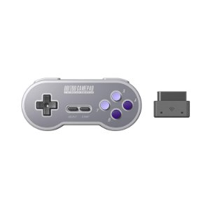 Controle 8Bitdo SN30 SF30 2.4Ghz Wireless P/ Snes Super Nintendo Famicom