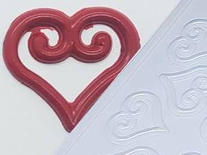 Forma Simples Arabesco Coração