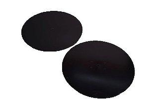 Disco para ganache preto 21 cm (2 unidades)