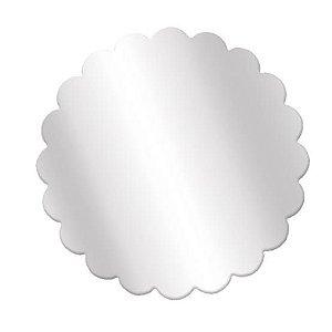 Fundo incolor redondo 9 cm incolor pct c/100