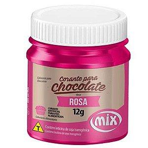 CORANTE P/ CHOCOLATE 12G ROSA