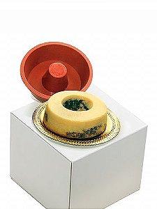 Forma Silicone Torta Suiça 13 x 6 cm