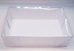 CAIXA 6 DOCES tampa cristal base branca