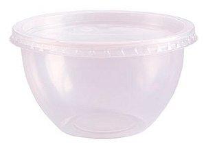 Pote Bowl 500 ml com tampa pct c/20