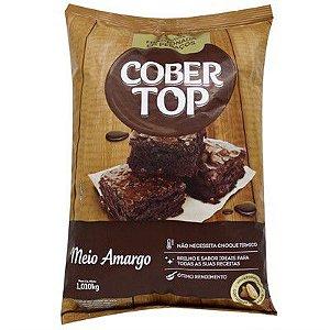 Cobertop Meio Amargo Lascas 1,01 Kg