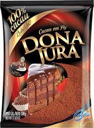 CACAU 100% em pó Dona Jura 500 g