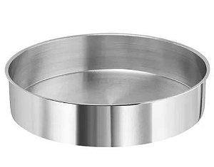 Forma Redonda 17 x 5 cm Alumínio Cimapi