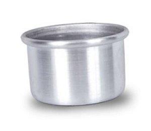 Forma Redonda 8 x 5 cm Alumínio W