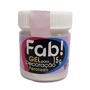 Gel p/ Decoração FAB Perolado 15g