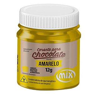 CORANTE P/ CHOCOLATE 12G AMARELO