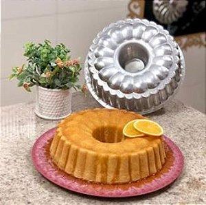 Forma Torta Suiça n°4 decorada 26 x 8 cm