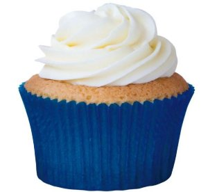 Forminha Azul Royal N°0 p/ cupcake pct c/ 45 Mago