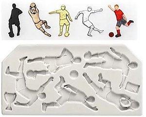 Molde Silicone Futebol