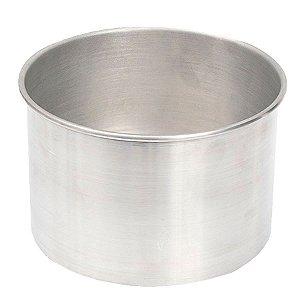 Forma Redonda 11 x 8 cm Alumínio RO