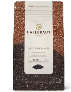 Flakes 4D Meio Amargo Split Callebaut Granulado Belga 1 Kg
