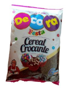 Mini Cereal Crocante Chocolate 500 g Decora
