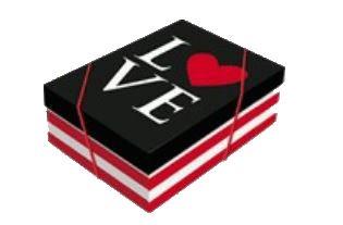 Caixa Love P 24 x 18 x 8 cm (unidade)