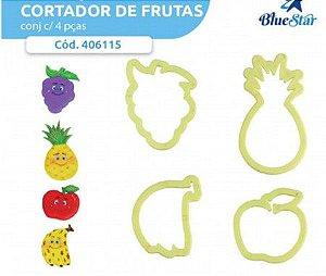 CORTADOR DE FRUTAS KIT C/4 PEÇAS