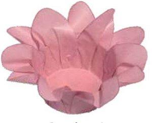 Forminha Lirio Rosa Seco c/40 Decora Doces