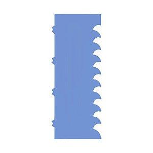 Espátula Decorativa cod 6 Azul