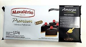 Cobertura Mavalério Premium Amargo Barra 1,01 Kg