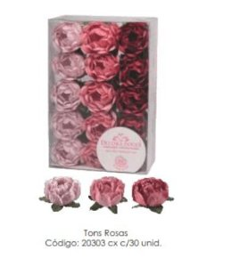Forminha Bela Tons de Rosa c/30 un Decora Doces