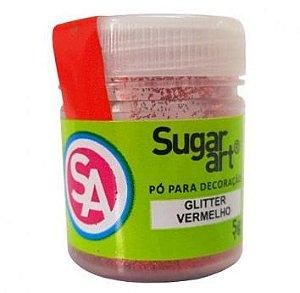 Glitter Sugar Glitter Vermelho 5 g
