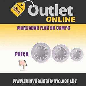 CORTADOR FLOR DO CAMPO KIT C/ 3 PEÇAS