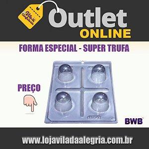 FORMA ACETATO C/ SILICONE SUPER TRUFA