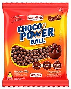 CEREAL AO LEITE CHOCO POWER BALL 500 G