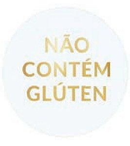 ETIQUETAS NAO CONTEM GLUTEN OURO pct c/100