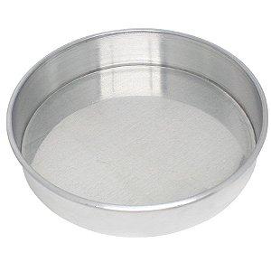 Forma Redonda 23 x 5 cm Alumínio Roldan