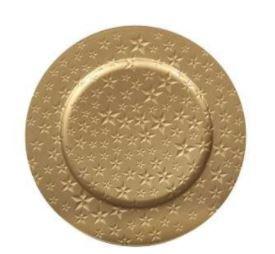 SOUSPLAT ESTRELA 33cm Dourado