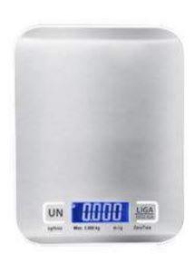 Balança digital 5 kgs para culinária