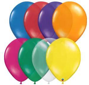 Balão 9 Sortido Joias Qualatex (venda por unidade)