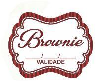 Adesivo Brownie pct c/100