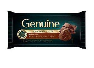Chocolate Ao Leite Genuine Barra 2,1 kg