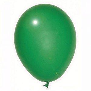 Balão São Roque Verde Folha 7 Pol pct c/50